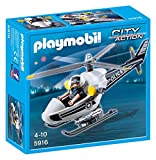 Playmobil 5916 City Action Police Helicopter   Multi Coloured