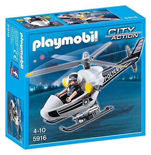 PLAYMOBIL: Helicóptero de Policía  59160
