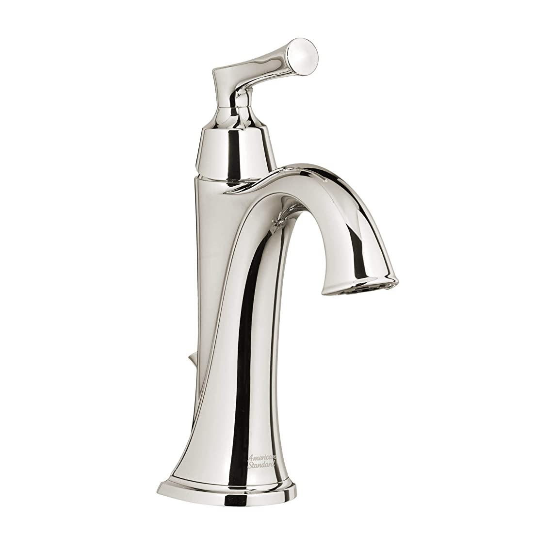 American Standard 7722.101.013 Estate Single Hole Bathroom Faucet - Includes Speed Connect Metal Pop-Up Drain