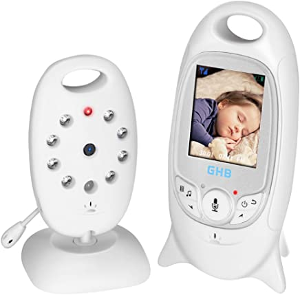 GHB Babyphone Digital Audio Video Baby Monitor Camera Baby phone Wireless Realtime Digital LCD Display Babyviewer 2.4 GHz