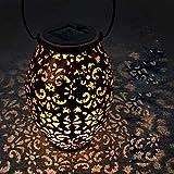 Lanterne solaire exterieur jardin,VIFLYKOO LED Lampe solaire Extérieur IP65 Imperméable Lumière Éclairage Décorative pour Jardin,terrasse,Patio,Pelouse Couloir Allée Fête cour et chemin