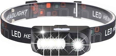 XINGTAO Hoofd Zaklamp XPE+COB USB Opladen LED Koplamp Draagbare LED Koplamp Super Heldere Hoofd Licht Outdoor Waterdichte ...