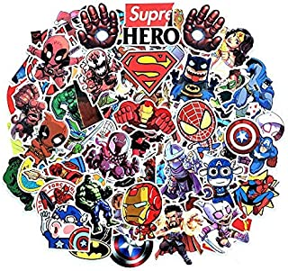 ALISSA Cool Stickers for Laptop Mobile Home Wall Decoration Stickers Superhero Sneakers Sticker Random Assorted Stickers W...