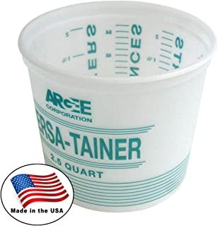 1 gallon mixing container