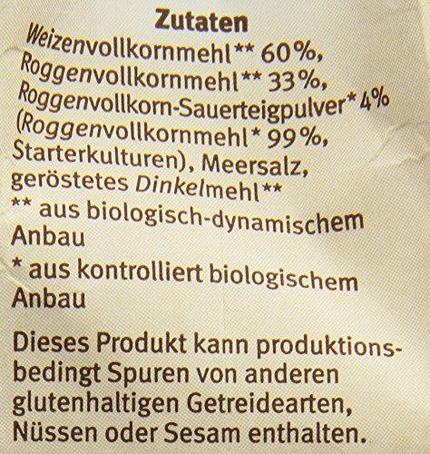 Bauckhof Vollkorn-Bauernbrot-Backmischung (500 g) – Bio - 7