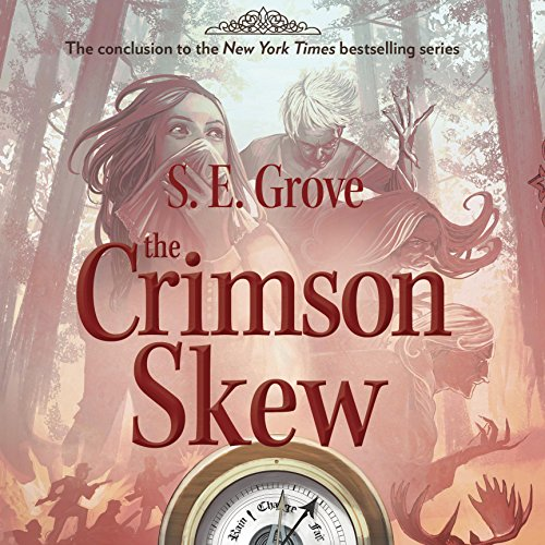 The Crimson Skew audiobook cover art