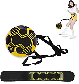 N NEWKOIN サッカー トレーナー 練習キット 練習用ベルト トレーニングベルト ボール自主練用 シュート練習 レジャー ファミリースポーツ