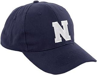 Morefaz, Gorra de béisbol infantil, diseño con letras A-Z, unisex, color azul marino