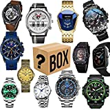 Men's Watches Sports Watches Business Watches Electronic Watches High-end Watches Halloween Christmas Gift Boxes Gifts for Parents, Husbands, Wives and Friends, Random Styles (Men's Watch)