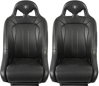 Pro Armor RZR Seats UTV G2 Black For Polaris RZR 1000 900 S XP 4 Turbo, 2 Pack
