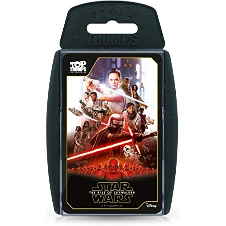 Star Wars Episode IX - The Rise of Skywalker Top Trumps Specials Card Game