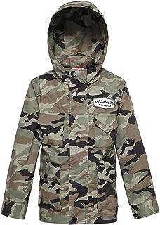 Rokka&Rolla Boys' Ultra Lightweight Zip-Up Casual Hooded Windbreaker Jacket