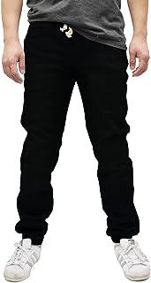 Sponsored Ad - Americano Men's Drop Crotch Jogger Twill Pants