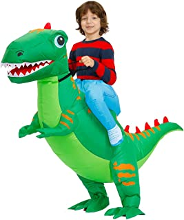 Kooy Inflatable Dinosaur Costume For Adult and Kids Funny Fancy Dress Halloween Christmas Costumes