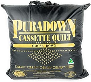 Puradown Super King 80 Goose Cassette Quilt