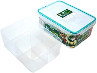 Bento Box Lunch Container with Dividers - Removable compartments, Airtight, Leak-Proof, Fridge, Microwave and Dishwasher Safe (78 oz)
