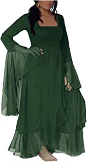 Jacob Oliver Wrap Dress Maxi Ruffle Sleeve Q973 Comfortable