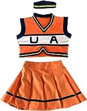 Boku No Hero Academia My Hero Academia Asui Tsuyu Cosplay Costume Cheerleader Cheerleading Uniform