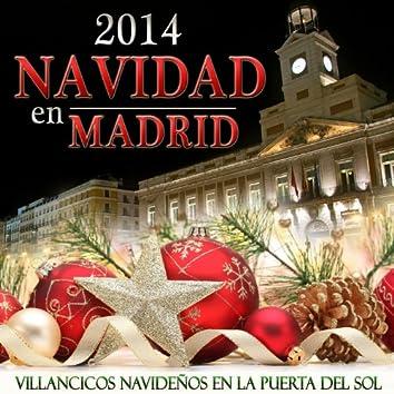 2014 Navidad en Madrid. Villancicos Navideños en la Puerta de el Sol