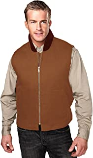 Tri-Mountain Men Cotton Canvas Lodestar Heavyweight Polyfill Quilted Lining Vest