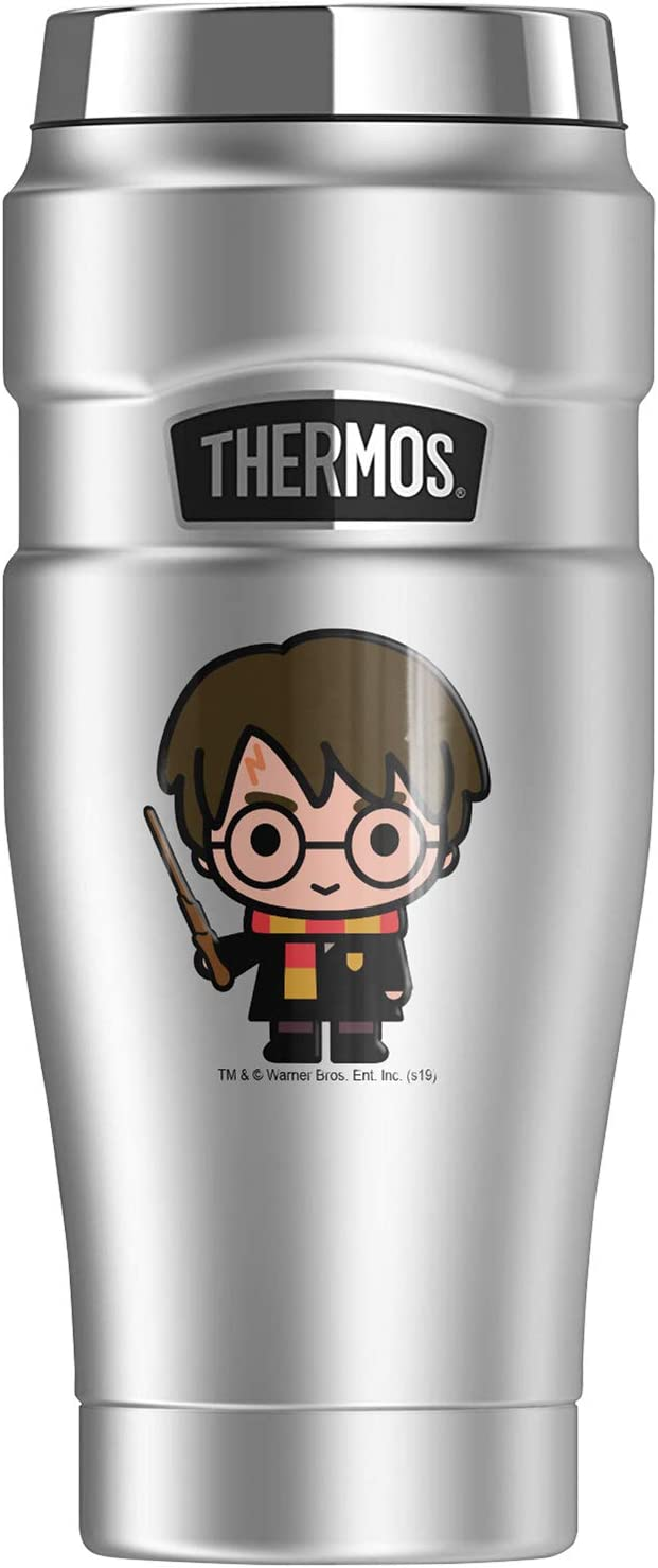 Harry Potter Cute Chibi THERMOS KING Stainless 当店限定販売 Steel 新作販売 STAINLESS
