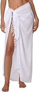 Sarong Wraps for Women Bathing Suit Wrap with Coconut Shell Included Sarongs for The Beach