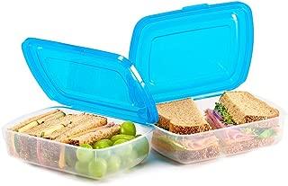 Mr Lid Premium Food Storage Container, Sandwich (19oz) 2 Count