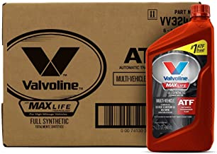 Best Valvoline Multi-Vehicle (ATF) Full Synthetic Automatic Transmission Fluid 1 QT, Case of 6 Reviews
