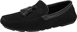 rismart Men's Casual Loafers Slip on Flat Shoes Slippers