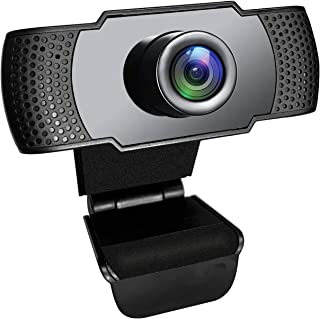 ACHAS Web Cameras for Computers, 1080P USB Webcam with Microphone for PC/Laptop/Desktop/Video Calling/Conferencing etc [Fu...