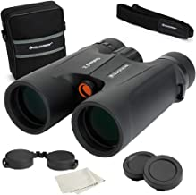 Celestron – Outland X 8x42 Binoculars with Smartphone Adapter – Waterproof & Fogproof – Binoculars for Adults – Multi-Coated Optics and BaK-4 Prisms – Protective Rubber Armoring