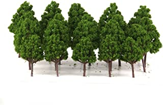 LEORX 1:75-1:200 Modelo árboles tren ferrocarril paisaje – 20 piezas