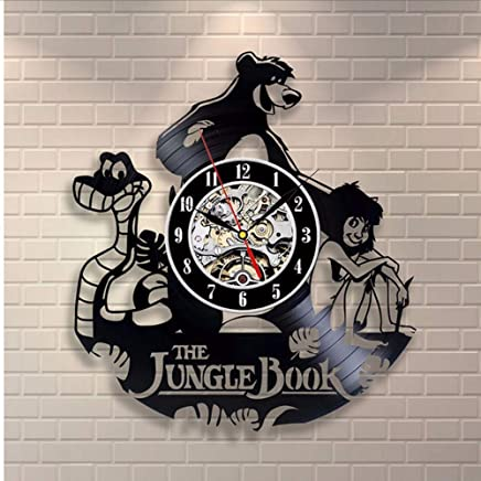 Monde De Lenfant 25 Cm Disney Jungle Book Horloge Murale