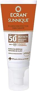 Ecran Sunnique Fluido Protector Cara y Escote con SPF50+ - 50 ml