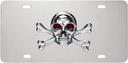 skull and crossbones license plate