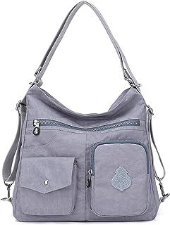 2345337713c Outreo Mujer Bolsos de Moda Impermeable Mochilas Bolsas de Viaje Bolso  Bandolera Sport Messenger Bag Bolsos