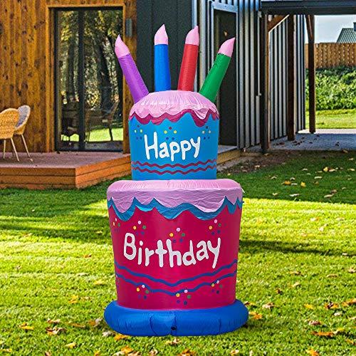 TRMESIA Happy Birthday Cake
