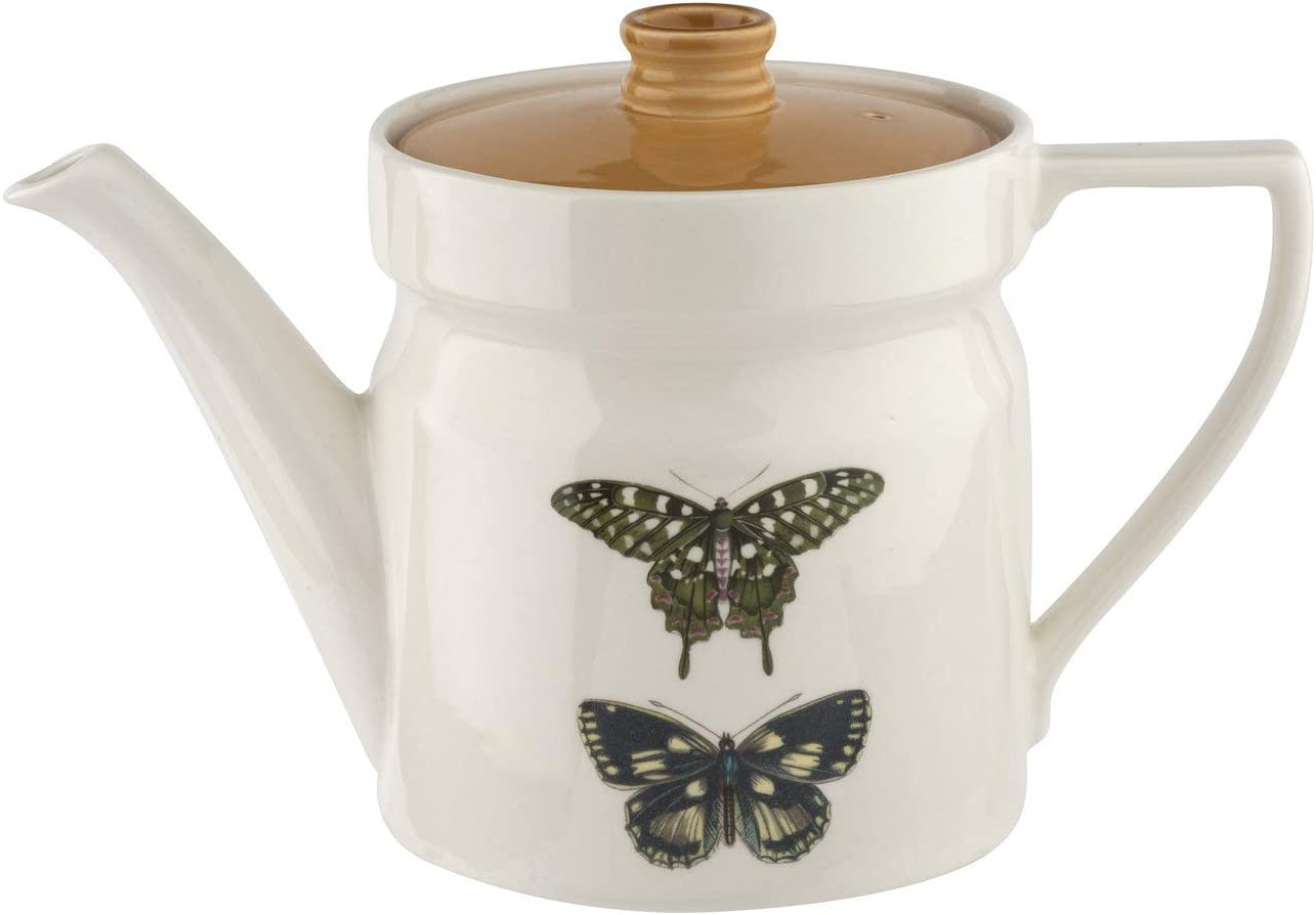 Portmeirion Teapot, White, 2pt