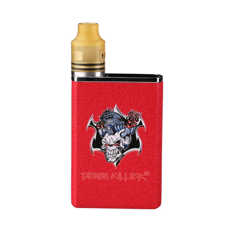 電卓ラップ蒸留する【正規品】Demon Killer TINY RDA kit 電子タバコセット (赤い色)