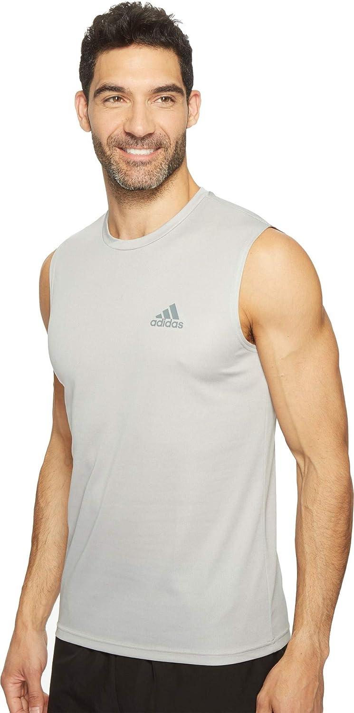 Amazon.com: adidas Men's Training Essentials Tech Sleeveless Tee