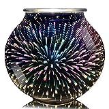 Best Wax Warmers - 3D Fireworks Glass Electric Wax Warmer Furnace Sweet Review