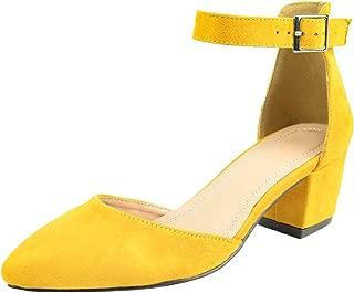 yellow church shoes