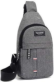 Sling Bag, Unisex Small Cross Body Shoulder Bag with Adjustable Shoulder Strap