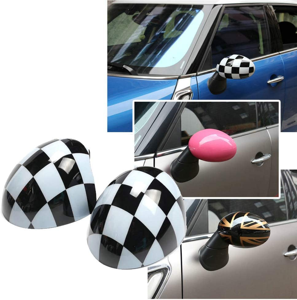 QIDIAN Car Door Sale Special Price Side Wing Max 76% OFF Mirror Cover Cooper for Clubman F Caps