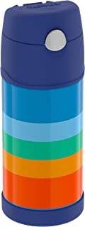 Thermos Funtainer, Cool Retro 12 Ounce Bottle