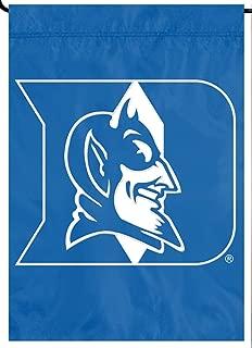 Party Animal Duke Blue Devils PA Premium Garden Flag Applique & Embroidered Banner University