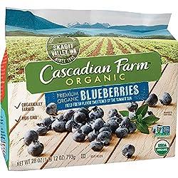 Cascadian Farm Organic Blueberries 28 oz Bag (Frozen)