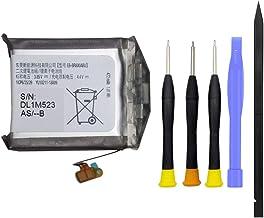 Sponsored Ad - JIE Replacement Battery for Samsung Gear S4 Smart Watch SM-R800 RM-R805 SM-R815 EB-BR800ABU with Repair Kit...