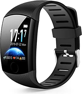 Smart Watch,Bluetooth Smartwatch Fitness Tracker Watch with Pedometer Heart Rate Monitor Sleep Tracker,Waterproof Smart Watch Compatible iPhone iOS Samsung LG Android Women Men Kids