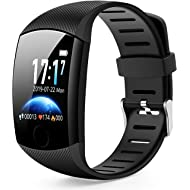 Smart Watch,Bluetooth Smartwatch Fitness Tracker Watch with Pedometer Heart Rate Monitor Sleep...